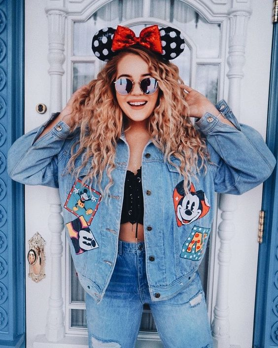 Outfit denim Mickey Mouse 3