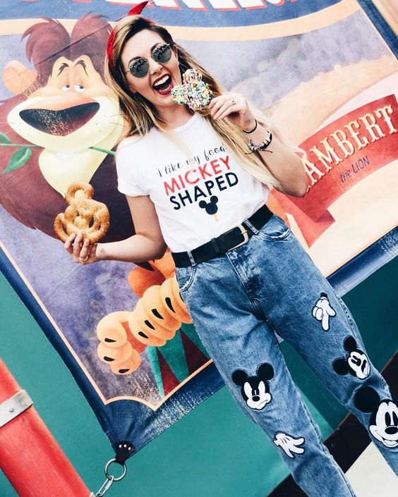 Outfit denim Mickey Mouse 4