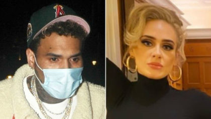 Adele Y Chris Brown Levantan Sospechas De Un Posible Romance Estilodf